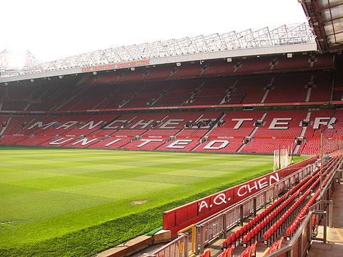 Old Trafford Stadium, Home of Manchester United