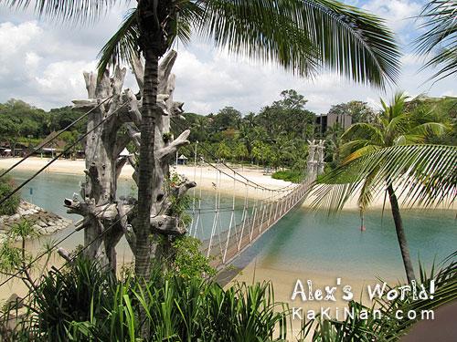Sentosa's Palawan Beach