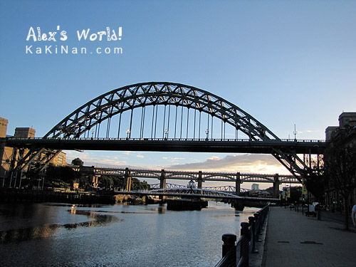 Bridges across River Tyne